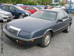Chrysler Le Baron 2.5i Turbo